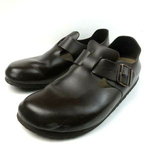"Birkenstock Size 41 Narrow ""London"" Closed Clogs"